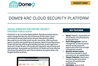Dome9 Arc Product Brief